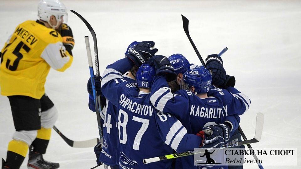 Динамо Москва — Северсталь прогноз на 4 марта