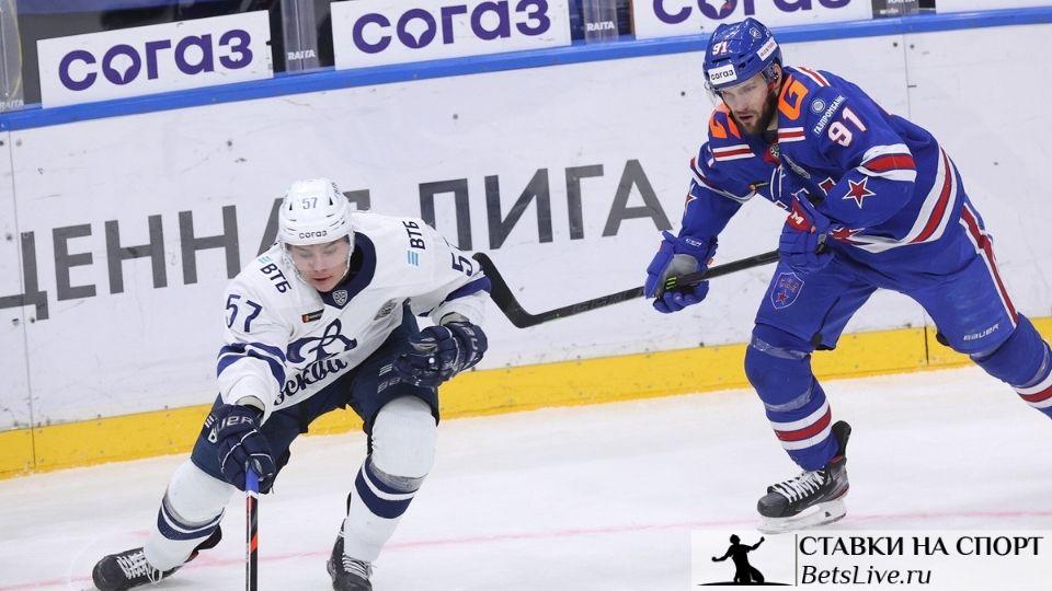 Динамо Москва — СКА прогноз на 22 марта