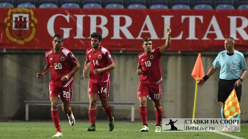 Сборная Гибралтара показала антифутбол